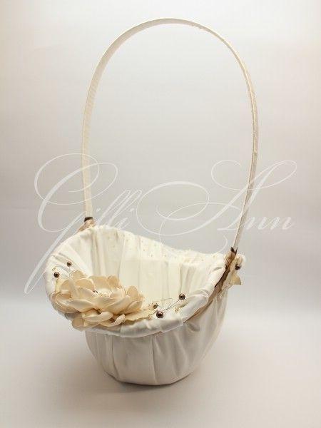 Корзинка для лепестков Gilliann Amore Caffa BAS015 #basketschampagne #basketspetals