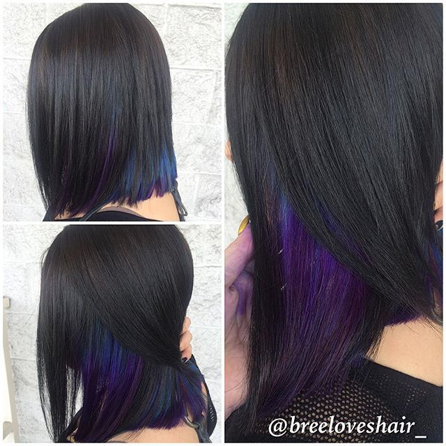 Pravana Neon Blue Google Search Peekaboo Pinterest Hair
