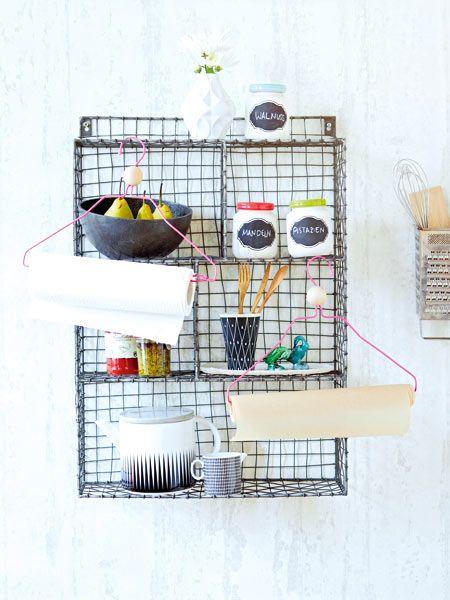 Toll: 21 kreative Ideen für hübsche Küchenkdeko!