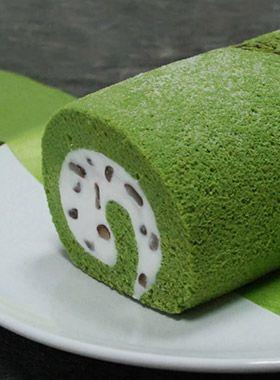 Summer Dessert: Matcha Cake Roll
