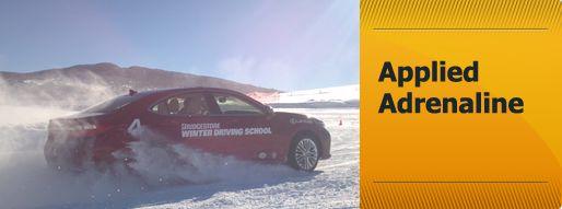 Bridgestone Winter Driving School (steamboat springs)