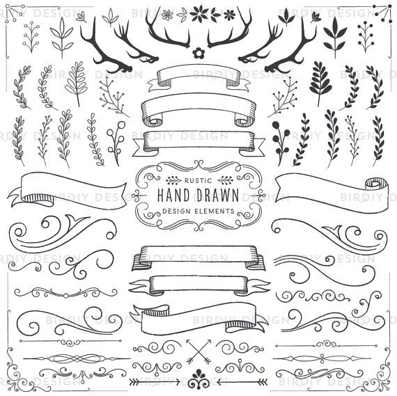 Rustic Scroll Design: 81 Best Images About Clipart On Pinterest