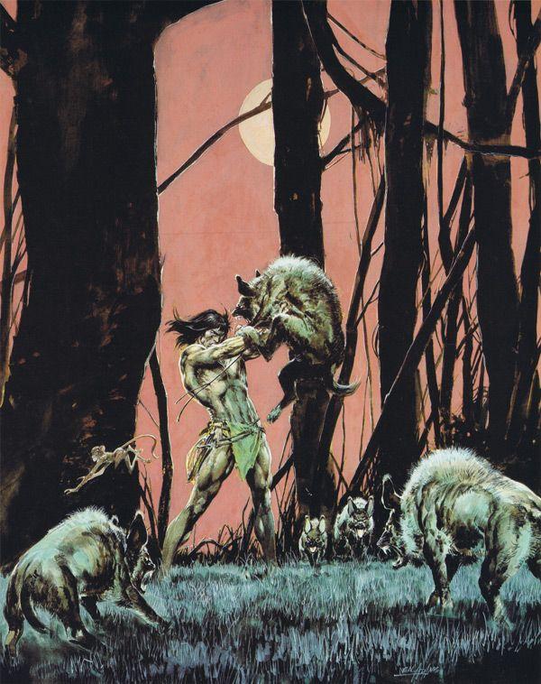 Tarzan Triumphant    by Neal Adams