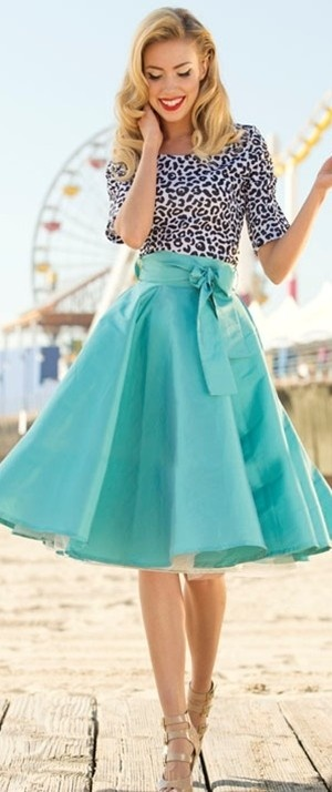 blue racer skirt ♥✤   Keep the Glamour   BeStayBeautiful