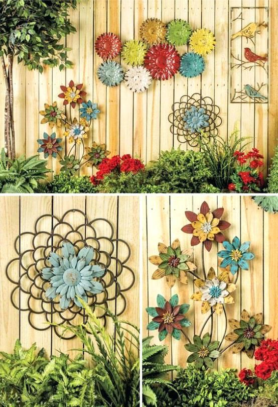 Image Result For Iron Exterior Wall Decorative Garden Art