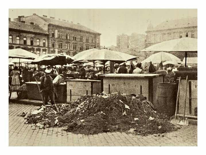 Piac a Garai téren