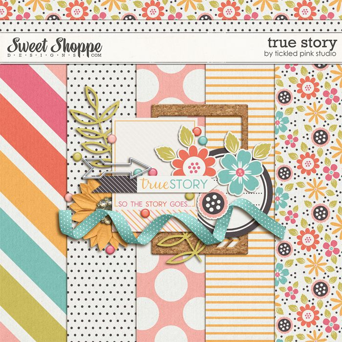 """True Story by Tickled Pink Studio ✿ Join 7,900 others. Follow the Free Digital Scrapbook board for daily freebies. Visit GrannyEnchanted.Com for thousands of digital scrapbook freebies. ✿ """"Free Digital Scrapbook Board"""" URL: https://www.pinterest.com/sherylcsjohnson/free-digital-scrapbook/"""