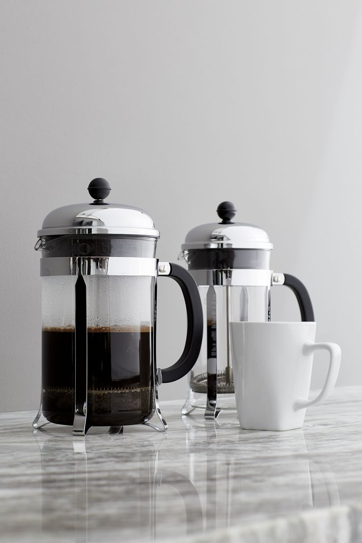 Bed bath beyond french press - An Original Dome Topped Bodum French Press Coffee Maker With Contemporary Flair The