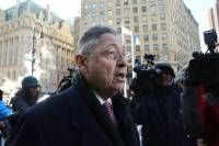 Former speaker of the New York State Assembly Sheldon Silver arrives for his arraignment at a New York court house after being arrested on January 22 on corruption charges on February 24, 2015 in New York City. Silver, a Democrat from the Lower East Side of Manhattan who had served as speaker for more than two decades, is accused in court documents of using the power of his office to solicit millions in bribes and kickbacks. (Photo by Spencer Platt/Getty Images)