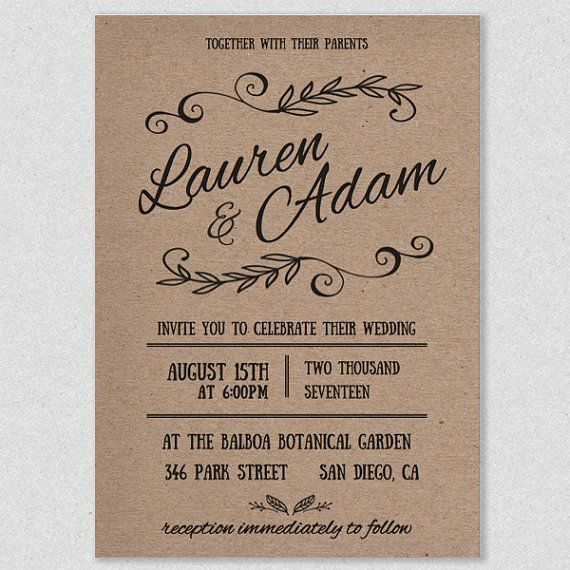 15 Best Invitation Templates Images On Pinterest Free Wedding   Formal  Invitations Template  Formal Invitations Template