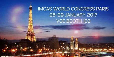 #VOE @ #IMCAS World Congress in Paris 26-29 Jan 2017. Come to visit us at Booth 103. We look forward to meeting you! #voegarments #compressiongarments #postsurgery #plasticsurgery #recovapostsurgery #voeslim