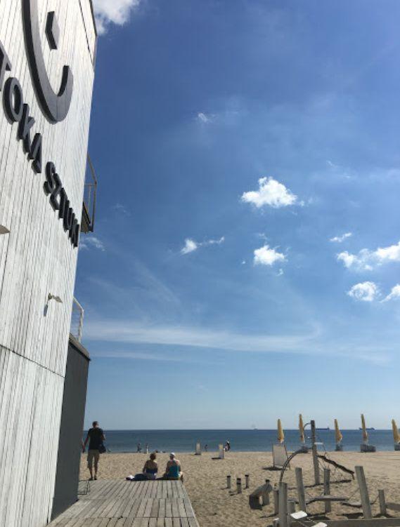 Lokalny przewodnik poziomu 2-go: Plaża w Sopocie