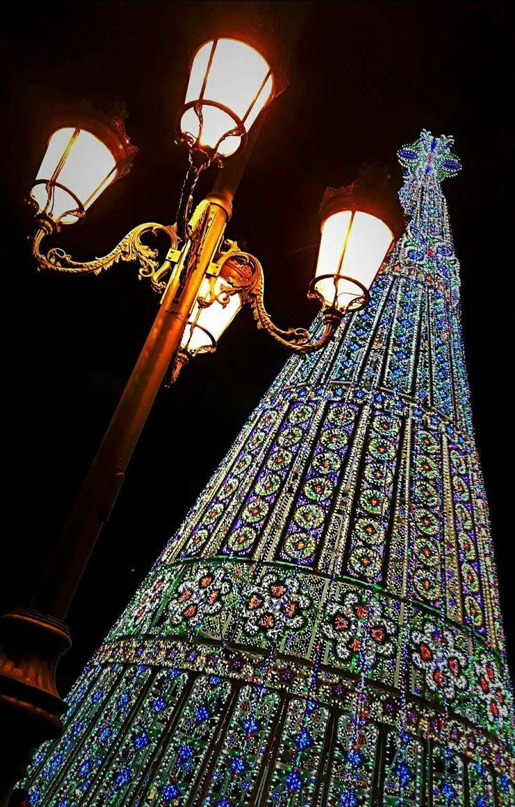 Albero di Natale in piazza Castello by Luca Petrilli