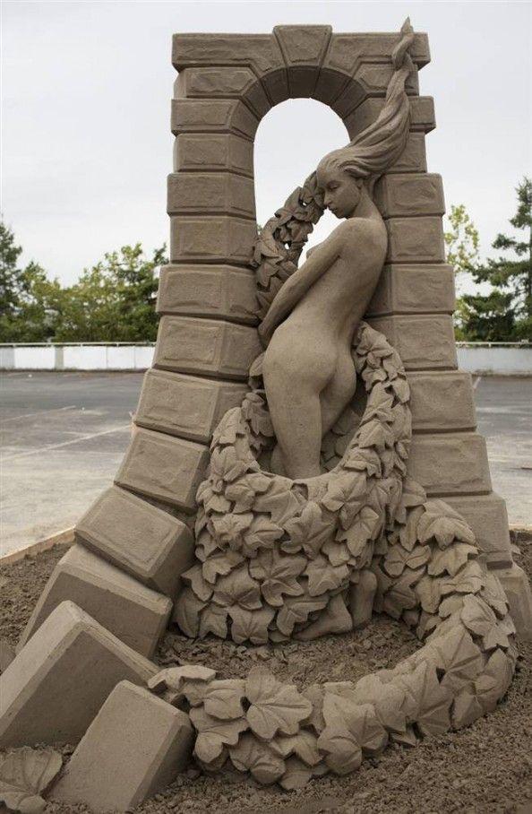 Asombrosas Esculturas de Arena | Rincón Abstracto
