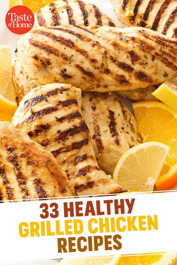 33 healthy grilled chicken recipes   – Chillin' and Grillin'