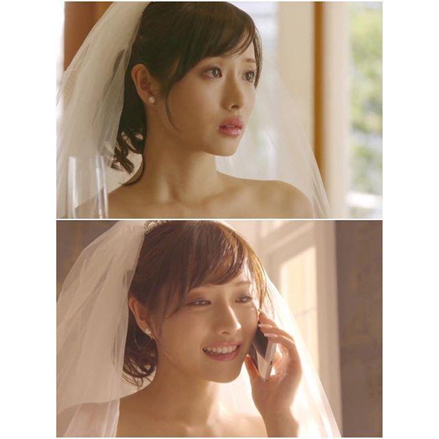 花嫁さん☆ #石原さとみ #失恋ショコラティエ #かわいすぎる