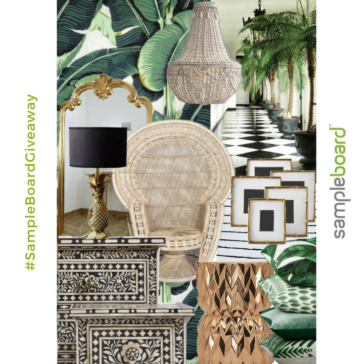Congratulations to Pamela, the winner of our first monthly #giveaway 👏 Pamela has won a FREE month on SampleBoard for creating this luxurious tropical #styleboard. 😍 The quest for inspiring designs is still on and we are looking for the Best SampleBoard of the Month in October too. Don't forget to label your mood board as public and fill your profile, so we can tag you when we share your masterpiece. Happy #moodboardmonday