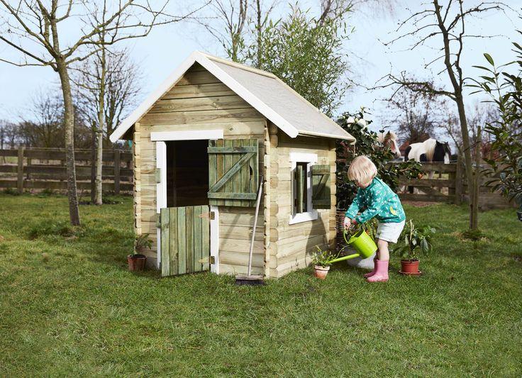 Praxis | Heb je voor jouw kind ook al zo'n leuk speelhuisje in de tuin?