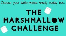 Math = Love: First Annual Marshmallow Challenge