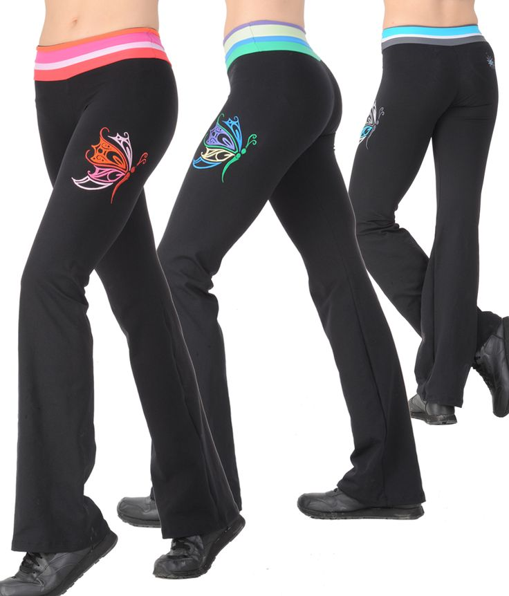 Margarita Sexy Work Out Clothes Flutter Pant