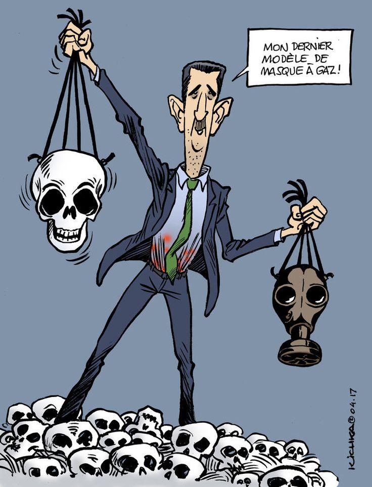 Syrie. Le retour d'Assad le chimiste | Courrier international