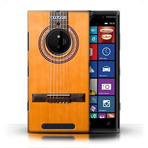 Stuff4 Phone Case / Cover For Nokia Lumia 830 / Wood/wooden Acoustic Design / Guitar Collection http://www.smartphonebug.com/accessories/27-coolest-nokia-lumia-830-cases-and-covers/