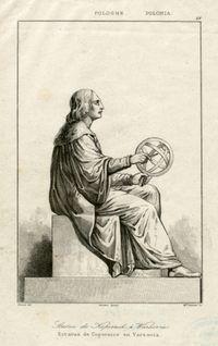 Pomnik Mikołaja Kopernika w Warszawie - Lesueur