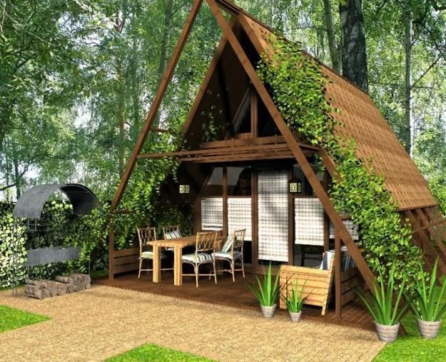 how to build a mini house