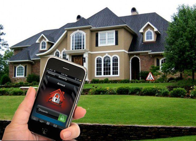 You can now have total control of your security system via any smart phone.