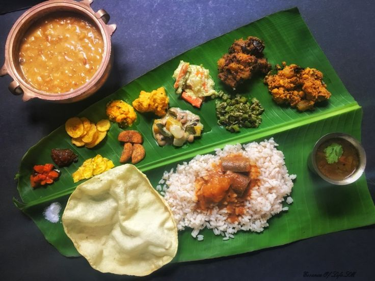 HOW TO SERVE ONAM SADHYA : Commemorative to Onam - the Sadhya or the Grand Feast is a total grandeur of food, please to all six senses.  The cooking, serving and eating this Sadhya is an ART on its own.