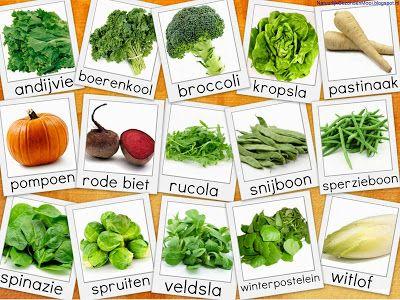 Natuurlijk Gezond en Mooi: Groente- en fruitkalender oktober