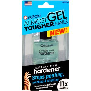 This is the first nail hardener I've found that actually WORKS!!  Believe it or not, it's not that expensive either, @ $3 at Wal-Mart.  I have long, strong nails even after removing glue on tips!