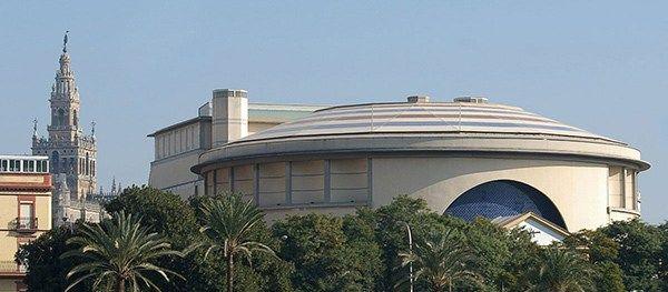 El #teatro de la #Maestranza y otras obras culturales para la #Expo92 de #Sevilla