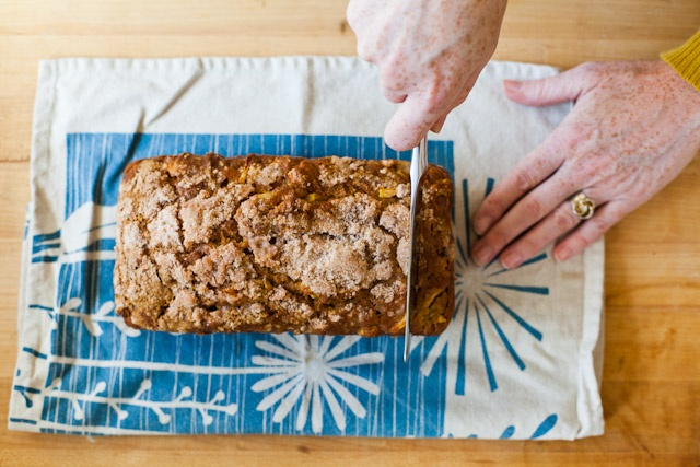 Pumpkin Apple Bread-i have made this recipe a couple times and it is amazing!  and it makes 2 loaves so one for home and one to give away.  also, tasted great with mini chocolate chips added!