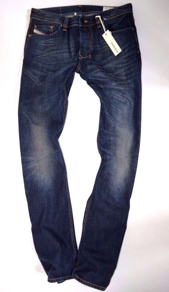799432a9 NEW mens DIESEL LARKEE 0074C Regular straight leg JEANS size uk W31 L34