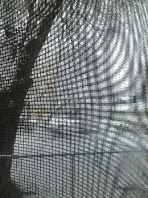Nieva en Ohio