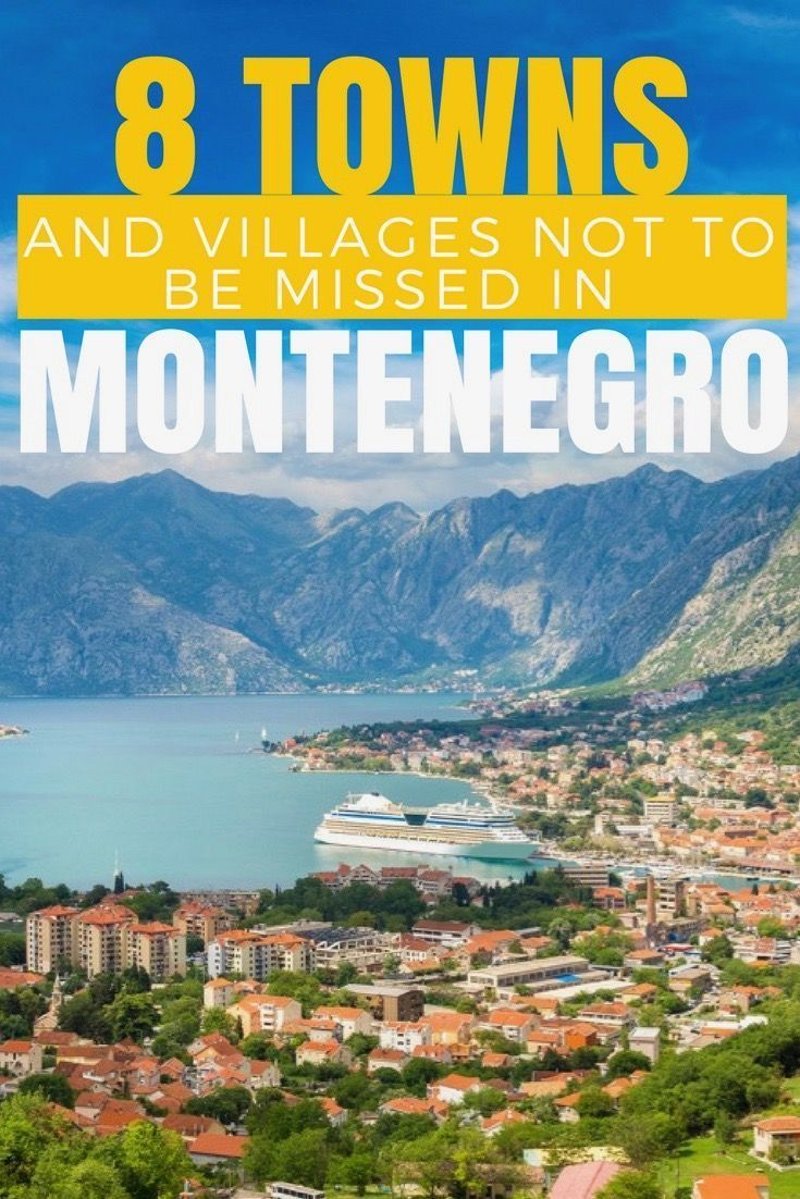 Balkans Travel Blog: If you love to fill your holiday with fun in the sun, hop along Montenegro's Adriatic coastline to explore 8 of the most eye-popping coastal towns and villages in the Balkans.