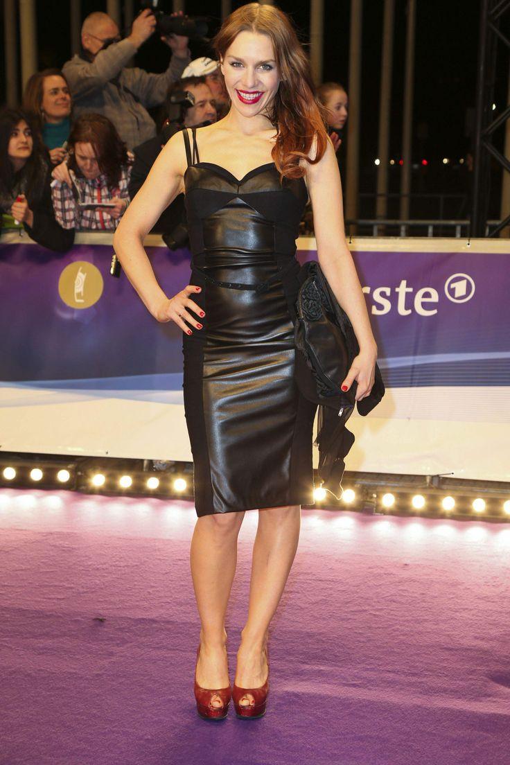 Julia Dietze ECHO 2014 | Celebs lovely in leather (pants ...