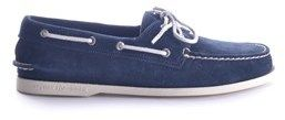 Sperry Men's Blue Suede Loafers.