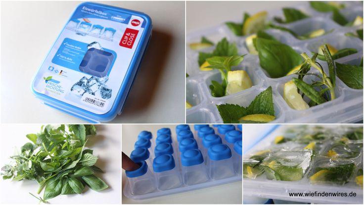 Heute habe ich die CLIP & CLOSE Eiswürfelform von EMSA ausprobiert und die Anwendung ist ja wirklich sehr einfach. Morgen wird ein Eistee mit den eingefrorenen Kräutern und Zitronenwürfelchen gemacht - ich freu mich drauf! - https://produkttest.emsa.com/?view=social&type=reply&id=235216