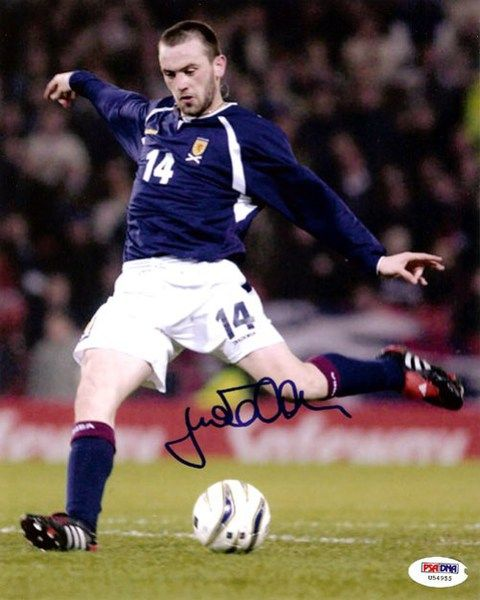 James McFadden Autographed 8x10 Photo Everton PSA/DNA #U54955