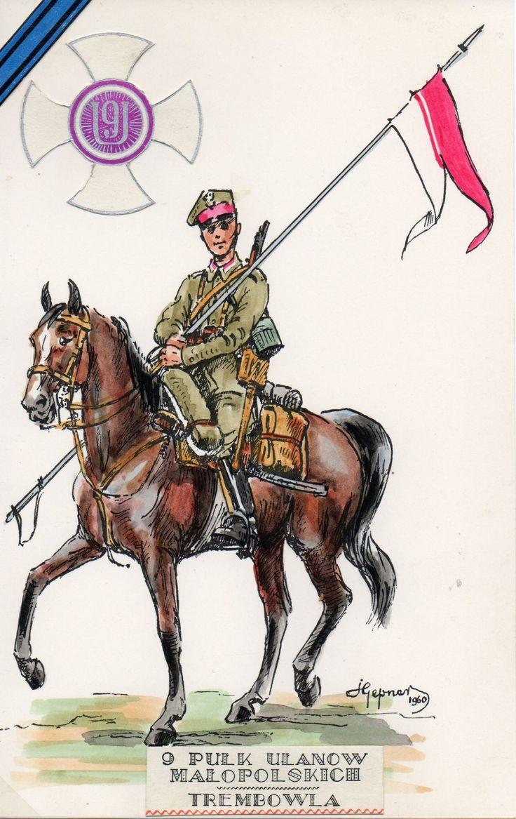 Esercito Polacco - 9° Reggimento Ulani, 1939