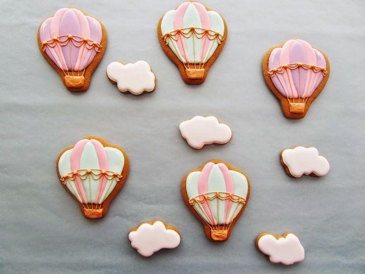 Lille Kage Hus: Småkager Luftballon.