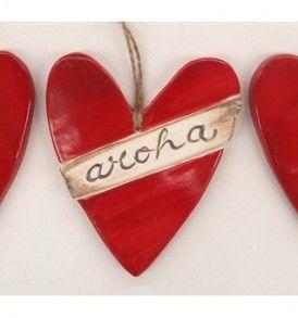 Aroha Hearts Trio Tiles
