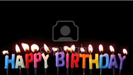 Stock Footage: Colourful happy birthday candles | ID:20088847 @ 123rf.com #stockfootage #stockvideo