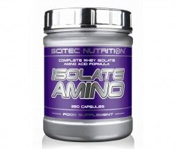Isolate Amino 250 capsule