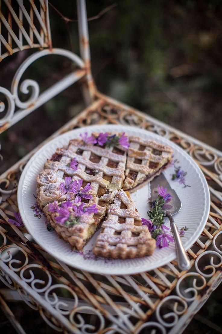 Crostata & Mini Tarts with Custard Cream and Wild Plum Jam | Hortus Natural Cooking