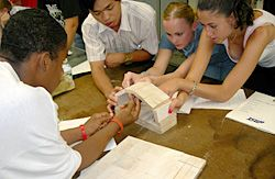 Materials science and engineering summer program at Drexel Univ for rising juniors and seniors. For more opportunities visit: http://teensharp.org/resources/college-prep-calendar/