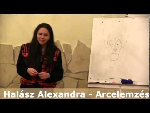 Halász Alexandra - Arcelemzés előadása