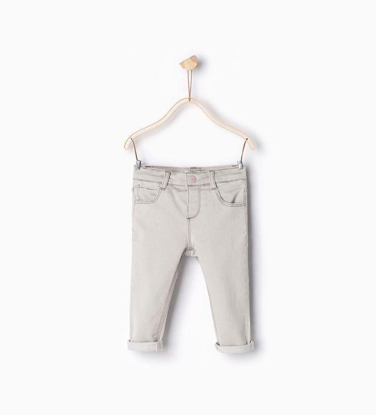 Skinny jeans-Nieuw deze week-Baby meisje | 3 maanden - 4 jaar-COLLECTIE SS16 | ZARA Nederland